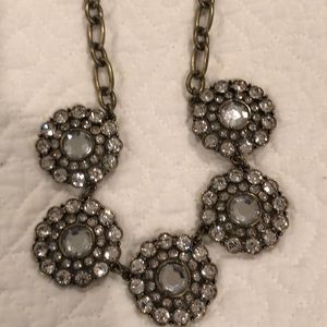 JCrew Sparkly Necklace with Adjustable Clasp